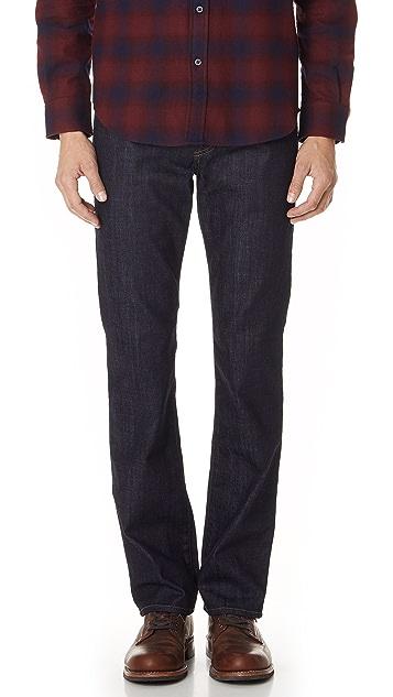 7 For All Mankind Carsen Easy Straight Leg Jeans