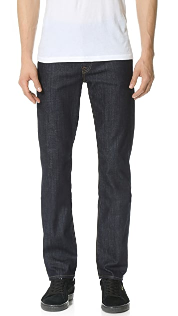 7 For All Mankind Slimmy Stretch Slim Straight Jeans