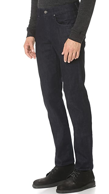 7 For All Mankind Straight Leg Luxe Performance Jeans