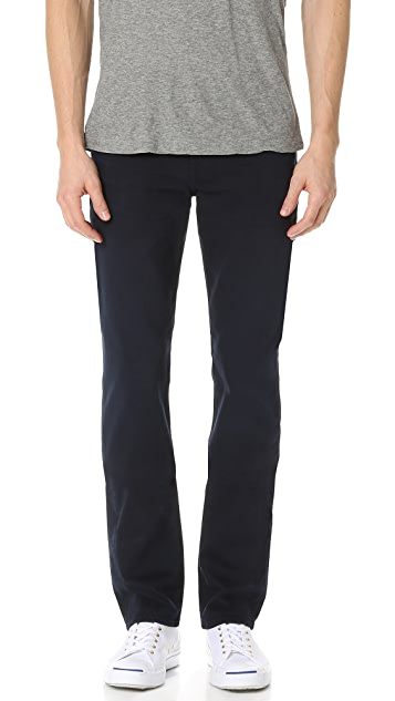 7 For All Mankind Slimmy Slim Straight Luxe Performance Colored Jeans