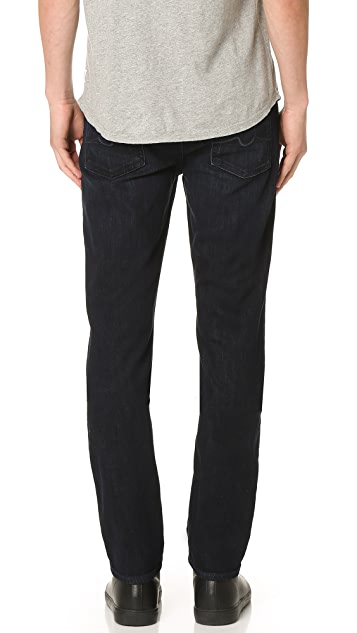 7 For All Mankind Slimmy Slimy Straight Luxe Performance Jeans