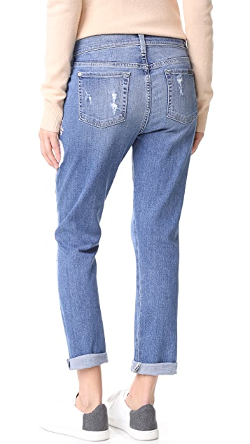 7 For All Mankind Josefina Boyfriend Jeans