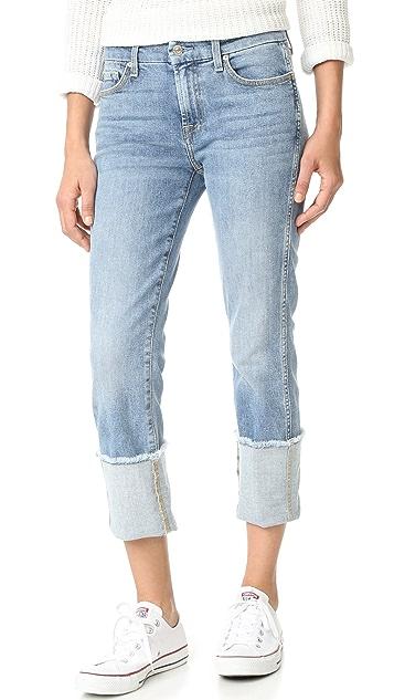 7 For All Mankind Fashion Boyfriend Jeans