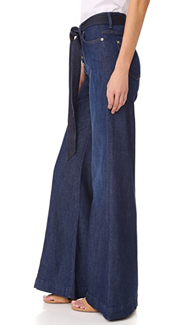 7 For All Mankind Wide Leg Lounge Pants