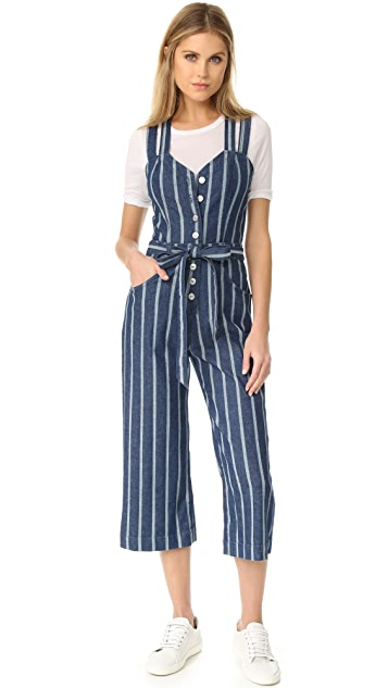 93f76b50f83 7 For All Mankind Button Front Jumpsuit