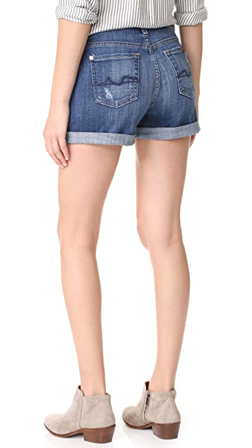 7 For All Mankind Roll Shorts