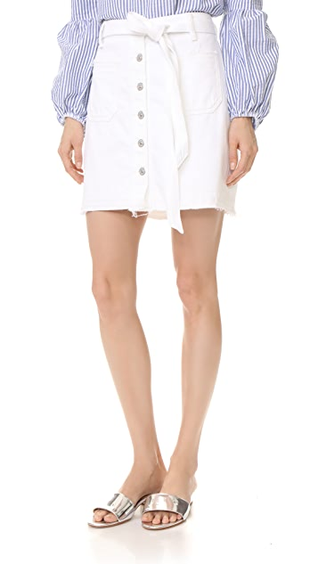 7 For All Mankind A-Line Skirt