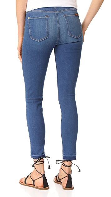 7 For All Mankind B(air) Skinny Jeans with Released Hem