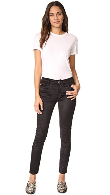 7 For All Mankind The Velvet Ankle Skinny Jeans