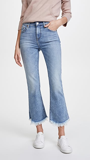 7 For All Mankind Cropped Ali Jeans with Frayed Hem  3efa2a434