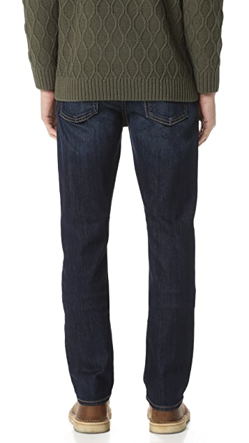 7 For All Mankind Straight Fit Air Weft Jeans