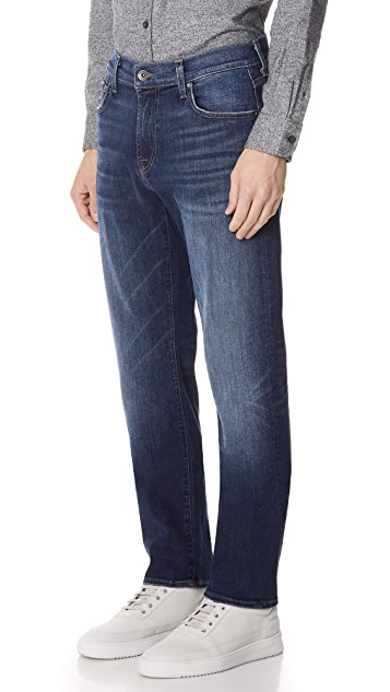 7 For All Mankind Slimmy Clean Jeans