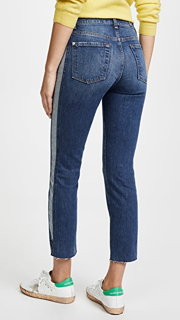 7 For All Mankind Edie Side Panel Jeans