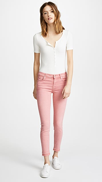7 For All Mankind The Ankle Skinny with Released Hem