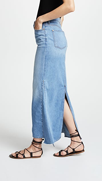 7 For All Mankind Long Maxi Skirt