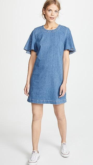 7 For All Mankind Popover Denim Dress