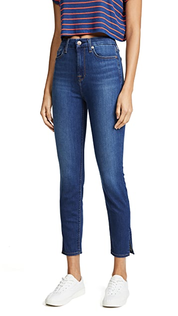7 For All Mankind Aubrey Jeans with Side Splits