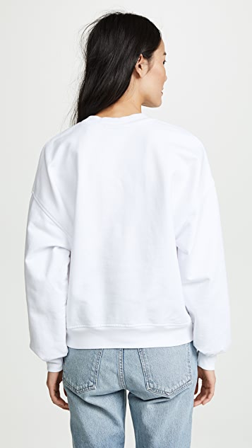 7 For All Mankind MANKIND Embossed Sweatshirt