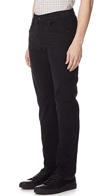 7 For All Mankind Straight Clean Trousers