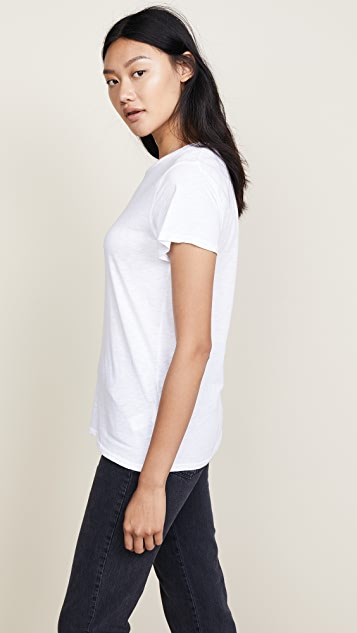 7 For All Mankind Slub Basic Tee