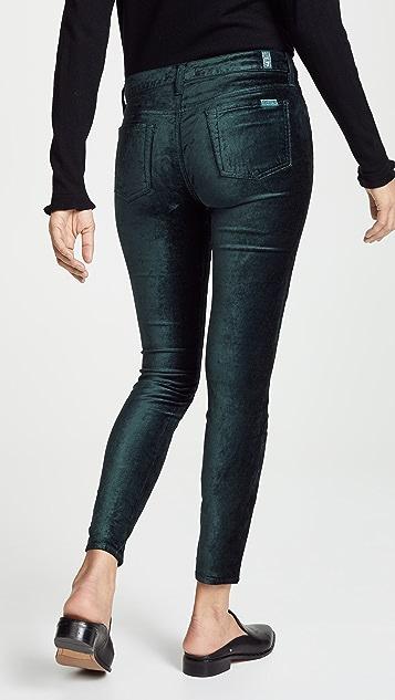 7 For All Mankind The Velvet Ankle Skinny Pants