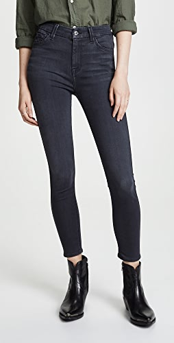 7 For All Mankind - The B(air) High Waisted Ankle Skinny Jeans