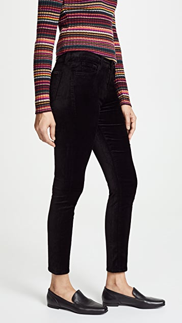 7 For All Mankind The Ankle Velvet Skinny Pants | SHOPBOP