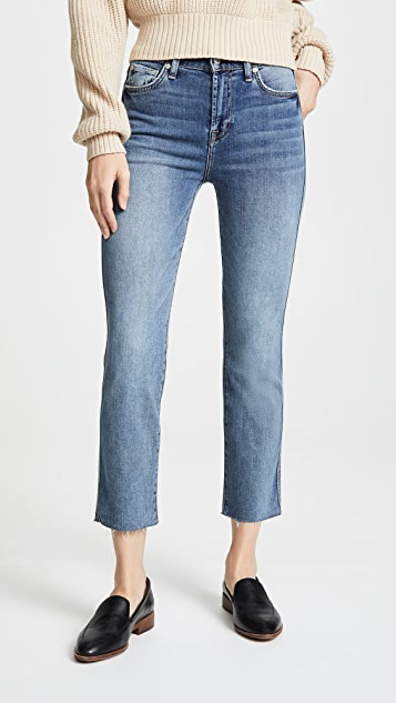 7 For All Mankind Edie B(air) Authentic Raw Hem Jeans