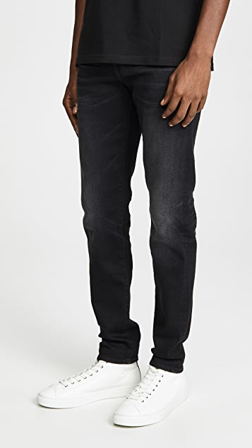 7 For All Mankind Riley Black Andromeda Jeans