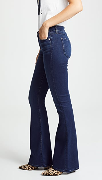 7 For All Mankind Ali Highrise Flare Jeans