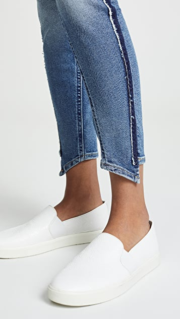 7 For All Mankind Luxe Vintage Ankle Skinny Jeans with Angled Seams