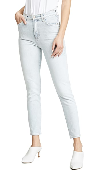 7 For All Mankind High Waist Slim Jeans