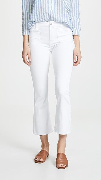 7 For All Mankind Облегающие джинсы Kick с высокой талией