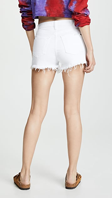 7 For All Mankind High Waist Shorts