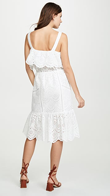 7 For All Mankind Eyelet Dress