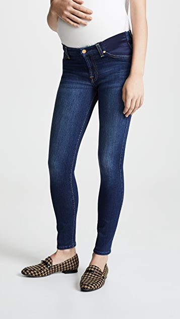 7 For All Mankind Ankle Skinny Maternity Jeans