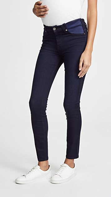 1a2fab228c98e 7 For All Mankind High Rise Skinny Maternity Jeans | SHOPBOP