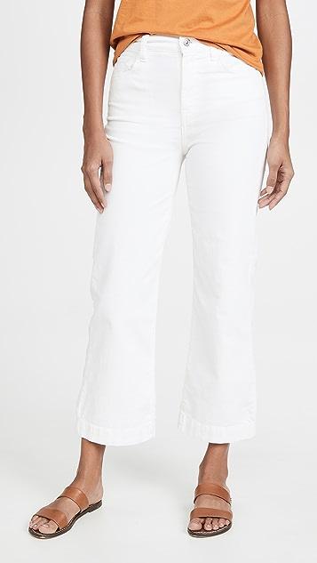 7 For All Mankind Укороченные джинсы Alexa