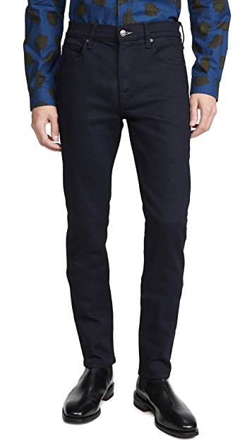 7 For All Mankind Slim Taper Adrien Jeans in True Blue