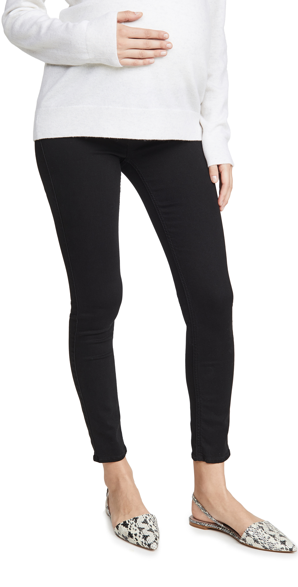 7 For All Mankind The Ankle Skinny Maternity Jeans