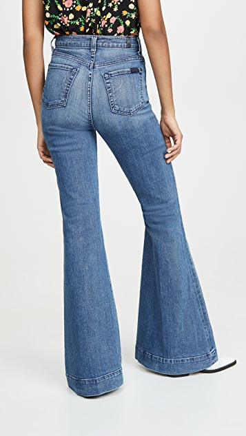 7 For All Mankind Mega Flare Jeans