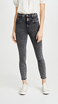 Retro Corset Jeans