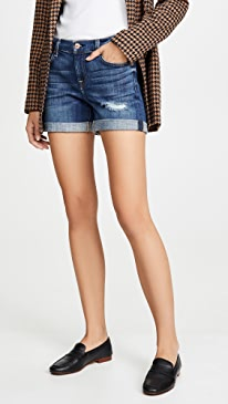 Relaxed Midroll Shorts
