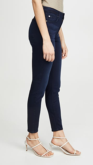 7 For All Mankind 及踝紧身牛仔裤