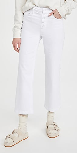 7 For All Mankind - Cropped Alexa Jeans