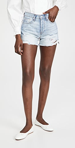 7 For All Mankind - Monroe Cut Off Shorts