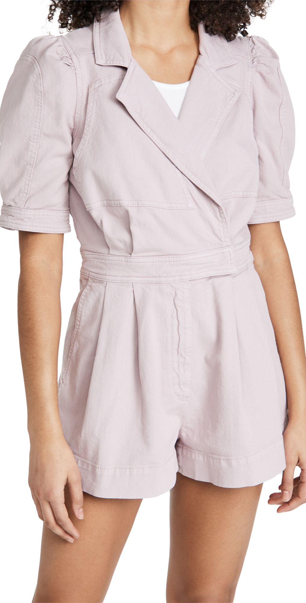 7 For All Mankind Seamed Romper