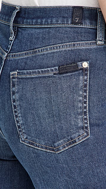 7 For All Mankind Cropped Alexa Jeans