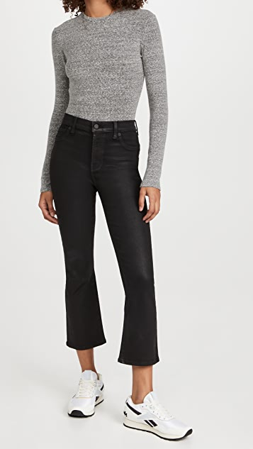 7 For All Mankind The High Rise Slim Kick Jeans