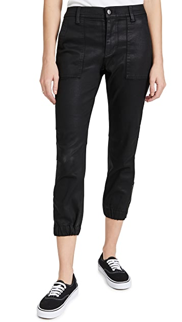 7 For All Mankind Coated Side Tuck Joggers